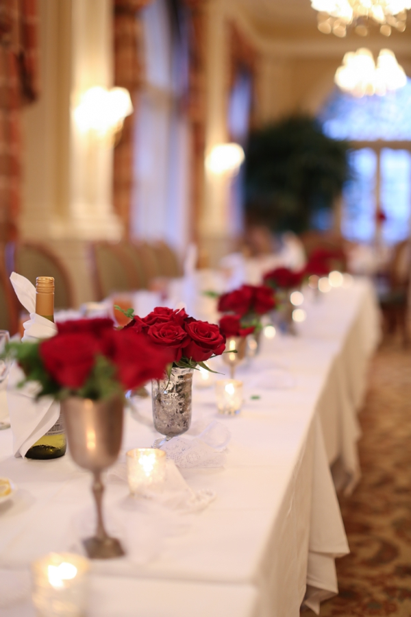 Flowers & Decor, Real Weddings, Wedding Style, red, Centerpieces, Fall Weddings, Northeast Real Weddings, Classic Real Weddings, Fall Real Weddings, Classic Weddings, Classic Wedding Flowers & Decor, Crimson