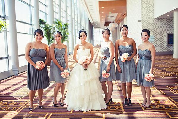 Real Weddings, Modern Real Weddings, West Coast Real Weddings, Modern Weddings, Grey
