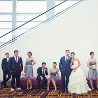 Real Weddings, blue, gray, Modern Real Weddings, West Coast Real Weddings, Modern Weddings