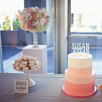 Cakes, Real Weddings, Wedding Style, Modern Wedding Cakes, Other Wedding Desserts, Wedding Cakes, Modern Real Weddings, West Coast Real Weddings, Modern Weddings