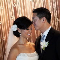 Beauty, Real Weddings, Wedding Style, Updo, Modern Real Weddings, West Coast Real Weddings, Classic Real Weddings, Classic Weddings, Modern Weddings, hair flowers