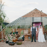 Real Weddings, Desert, rustic romance