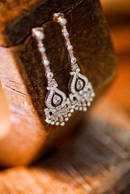Jewelry, Real Weddings, Wedding Style, Earrings, Accessories, West Coast Real Weddings, Vineyard Real Weddings, Vineyard Weddings