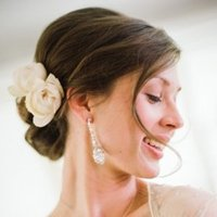 Beauty, Real Weddings, Wedding Style, Chignon, Updo, West Coast Real Weddings, Vineyard Real Weddings, Vineyard Weddings, hair flowers