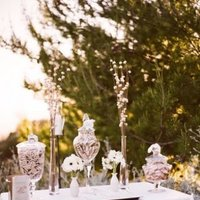 Flowers & Decor, Real Weddings, Wedding Style, West Coast Real Weddings, Vineyard Real Weddings, Vineyard Weddings, Candy, candy bar, vineyard weddign flowers & decor