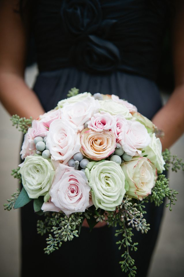 Flowers & Decor, Real Weddings, Wedding Style, Bridesmaid Bouquets, Spring Weddings, Classic Real Weddings, Spring Real Weddings, Classic Weddings, Spring Wedding Flowers & Decor, Pastel, preppy weddings, preppy real weddings