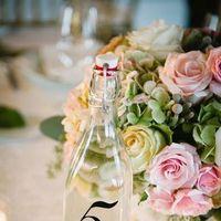 Flowers & Decor, Real Weddings, Wedding Style, Table Numbers, Spring Weddings, Classic Real Weddings, Spring Real Weddings, Classic Weddings, Spring Wedding Flowers & Decor, Pastel, preppy weddings, preppy real weddings