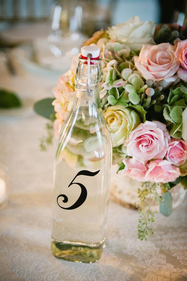 Flowers & Decor, Real Weddings, Wedding Style, Table Numbers, Spring Weddings, Classic Real Weddings, Spring Real Weddings, Classic Weddings, Spring Wedding Flowers & Decor, Pastel, preppy weddings, preppy real weddings