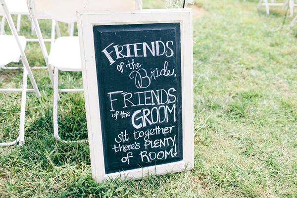 Flowers & Decor, Real Weddings, Wedding Style, Southern Real Weddings, Summer Weddings, Summer Real Weddings, Rustic Wedding Flowers & Decor, Wedding signs, Chalkboard, preppy weddings, preppy real weddings