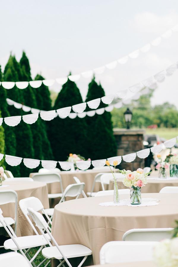 Flowers & Decor, Real Weddings, Wedding Style, Tables & Seating, Southern Real Weddings, Summer Weddings, Summer Real Weddings, Summer Wedding Flowers & Decor, Pastel, preppy weddings, preppy real weddings, preppy wedding flowers & decor