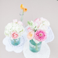 Flowers & Decor, Real Weddings, Wedding Style, blue, Centerpieces, Southern Real Weddings, Summer Weddings, Summer Real Weddings, Summer Wedding Flowers & Decor, Pastel, preppy weddings, preppy real weddings