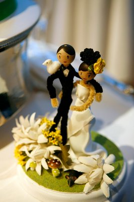 Cakes, Real Weddings, Wedding Style, Cake Toppers, Spring Weddings, City Real Weddings, Spring Real Weddings, City Weddings