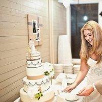 Cakes, Wedding Cakes, Beach Real Weddings, south carolina weddings, south carolina real weddings, classic cakes