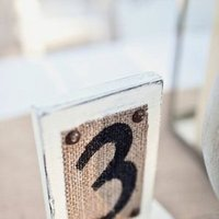 Stationery, Real Weddings, Wedding Style, Table Numbers, Beach Weddings, Rustic Weddings, Burlap, real beach weddings, south carolina weddings, south carolina real weddings