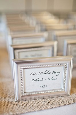 Stationery, Real Weddings, Place Cards, Escort Cards, Beach Real Weddings