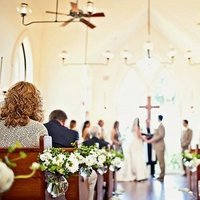 Ceremony, Flowers & Decor, Real Weddings, Wedding Style, Ceremony Flowers, Aisle Decor, Beach Real Weddings, Classic Weddings, Classic Flowers & Decor, Summer Flowers & Decor