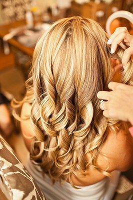 Beauty, Down, Curly Hair, Long Hair, Wedding Hair, Southern Real Weddings, Hair, Hair down, blonde hair, south carolina weddings, south carolina real weddings