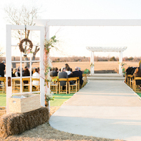 Flowers & Decor, Real Weddings, Wedding Style, brown, Ceremony Flowers, Rustic Real Weddings, Southern Real Weddings, Rustic Weddings, Rustic Wedding Flowers & Decor