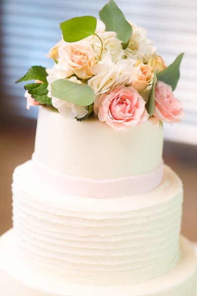 Real Weddings, white, pink, green, Floral Wedding Cakes, Southern Real Weddings, Rustic Real Weddings, Rustic Weddings, Cakes, Wedding Style, Cake Toppers, Wedding Cakes, Round Wedding Cakes