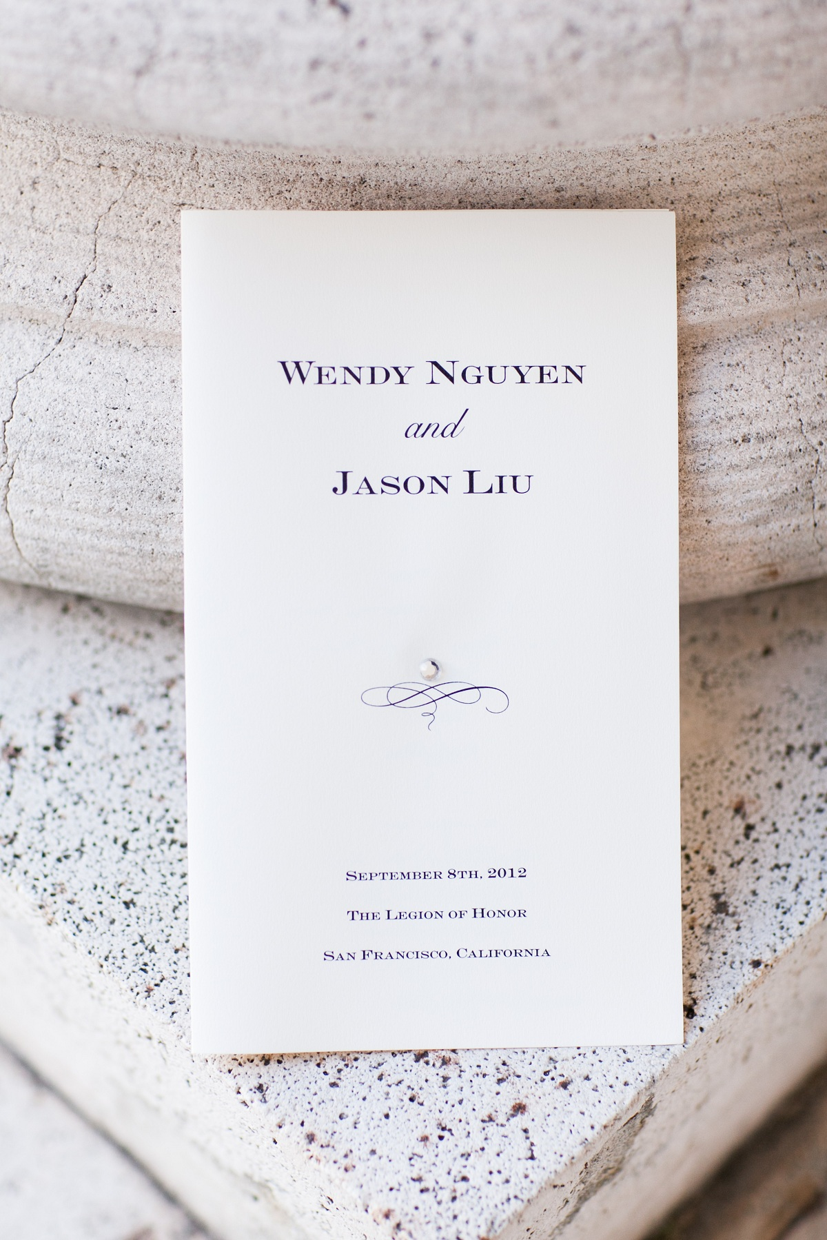 Stationery, Real Weddings, red, Ceremony Programs, Fall Weddings, West Coast Real Weddings, Fall Real Weddings, Wedding program, Crimson, West Coast Weddings, Romantic Real Weddings, Glamorous Real Weddings, Glamorous Weddings, Romantic Real Wedding
