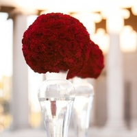 Flowers & Decor, Real Weddings, red, Ceremony Decor, Fall Weddings, West Coast Real Weddings, Fall Real Weddings, Crimson, Ceremony décor, West Coast Weddings, Romantic Real Weddings, Glamorous Real Weddings, Glamorous Weddings, Romantic Real Wedding