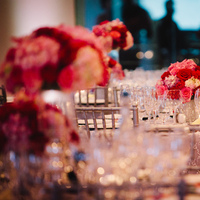 Reception, Flowers & Decor, Real Weddings, red, Fall Weddings, West Coast Real Weddings, Fall Real Weddings, Crimson, West Coast Weddings, Romantic Real Weddings, Glamorous Real Weddings, Glamorous Weddings, Romantic Real Wedding