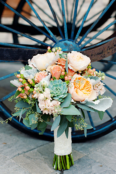 Flowers & Decor, Real Weddings, Wedding Style, Bride Bouquets, Summer Weddings, West Coast Real Weddings, Summer Real Weddings, Summer Wedding Flowers & Decor, Mint, Pastel