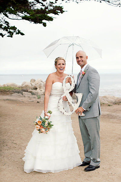Sweetheart Wedding Dresses, Fashion, Real Weddings, Wedding Style, Summer Weddings, West Coast Real Weddings, Summer Real Weddings, Umbrellas, Props, Wedding signs, ampersands