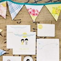 Stationery, Real Weddings, Invitations, Summer Weddings, West Coast Real Weddings, Summer Real Weddings, Wedding invitations, Pastel, preppy weddings, preppy real weddings