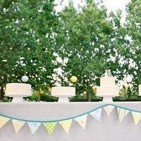 Cakes, Real Weddings, Wedding Style, Wedding Cakes, Summer Weddings, West Coast Real Weddings, Summer Real Weddings, Pastel, preppy weddings, preppy real weddings