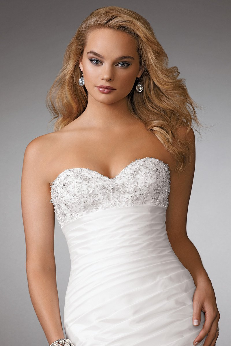 Wedding Dresses, Sweetheart Wedding Dresses, Mermaid Wedding Dresses, Fashion, white, Summer, Flowers, Sweetheart, Strapless, Strapless Wedding Dresses, Beading, Floor, Formal, Ballroom, Taffeta, Pleats, Reflections by jordan, Mermaid/Trumpet, modern space, Beaded Wedding Dresses, taffeta wedding dresses, trumpet wedding dresses, Flower Wedding Dresses, Formal Wedding Dresses, Summer Wedding Dresses, Floor Wedding Dresses