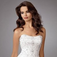 Wedding Dresses, Ball Gown Wedding Dresses, Romantic Wedding Dresses, Fashion, white, Summer, Romantic, Strapless, Strapless Wedding Dresses, Beading, Floor, Formal, Organza, Ballroom, Dropped, Ball gown, Reflections by jordan, historic site, modern space, Beaded Wedding Dresses, organza wedding dresses, Formal Wedding Dresses, Summer Wedding Dresses, Floor Wedding Dresses