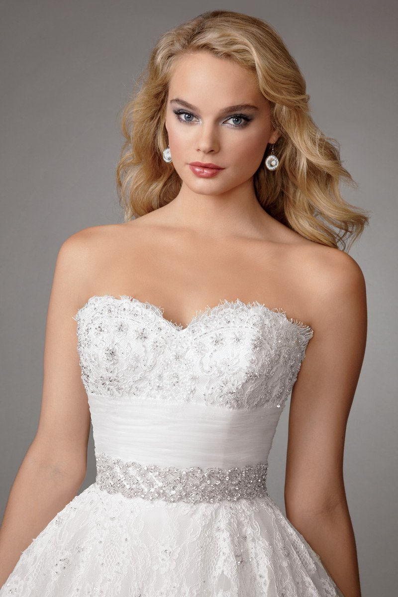 Wedding Dresses, Sweetheart Wedding Dresses, Ball Gown Wedding Dresses, Lace Wedding Dresses, Romantic Wedding Dresses, Fashion, white, Romantic, Lace, Sweetheart, Strapless, Strapless Wedding Dresses, Beading, Tulle, Floor, Formal, Natural, Ballroom, Ruching, Ball gown, Reflections by jordan, Sash/Belt, historic site, Beaded Wedding Dresses, tulle wedding dresses, Formal Wedding Dresses, Floor Wedding Dresses, Sash Wedding Dresses, Belt Wedding Dresses