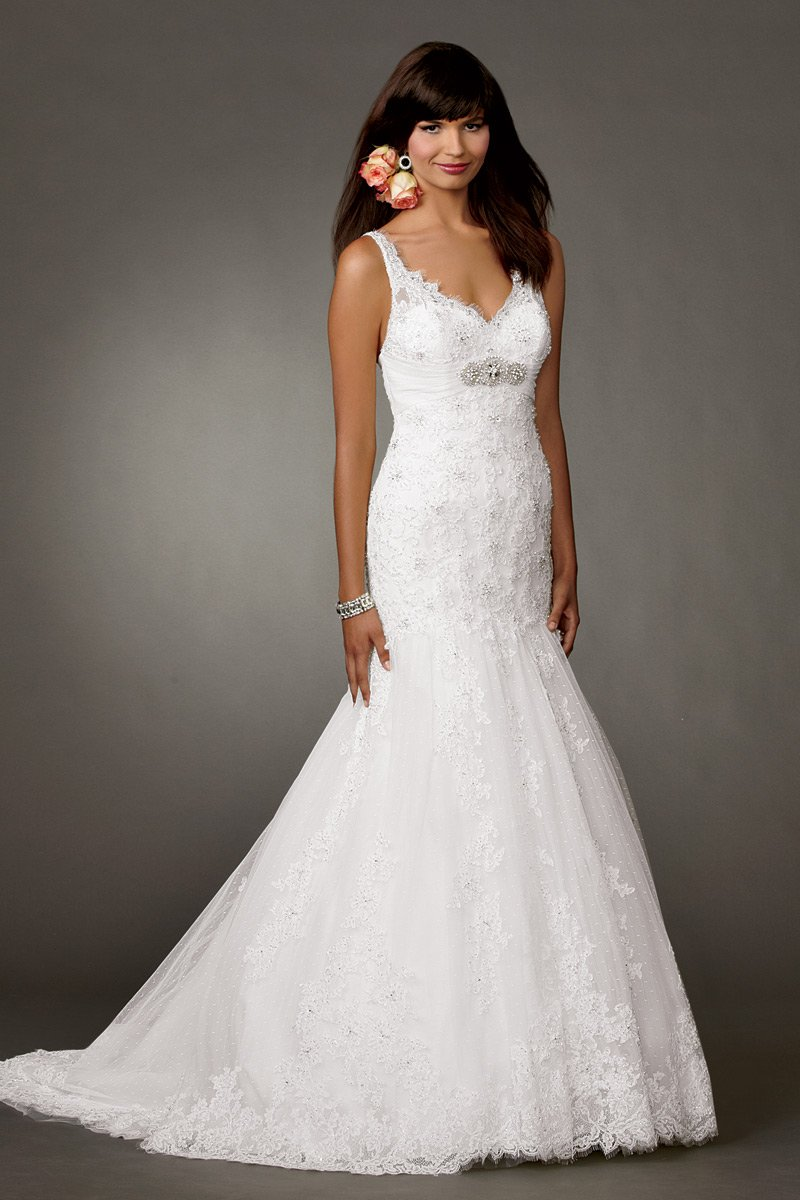 Wedding Dresses, Mermaid Wedding Dresses, Lace Wedding Dresses, Fashion, white, Summer, Vineyard, Boho Chic, Lace, Beading, V-neck, V-neck Wedding Dresses, Floor, Formal, Country, Sleeveless, Reflections by jordan, Fit-n-Flare, historic site, Beaded Wedding Dresses, Boho Chic Wedding Dresses, Formal Wedding Dresses, Summer Wedding Dresses, Floor Wedding Dresses