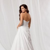 Wedding Dresses, Sweetheart Wedding Dresses, A-line Wedding Dresses, Fashion, white, Summer, Flowers, Sweetheart, Strapless, Strapless Wedding Dresses, A-line, Beading, Floor, Formal, Ballroom, Country club, Taffeta, Ruching, Reflections by jordan, Beaded Wedding Dresses, taffeta wedding dresses, Flower Wedding Dresses, Formal Wedding Dresses, Summer Wedding Dresses, Floor Wedding Dresses