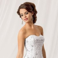 Wedding Dresses, Sweetheart Wedding Dresses, Ball Gown Wedding Dresses, Ruffled Wedding Dresses, Fashion, white, Winter, Sweetheart, Strapless, Strapless Wedding Dresses, Beading, Floor, Formal, Organza, Ballroom, Ruffles, Tiers, Ball gown, Reflections by jordan, modern space, Beaded Wedding Dresses, organza wedding dresses, winter wedding dresses, Formal Wedding Dresses, Floor Wedding Dresses, Tiered Wedding Dresses