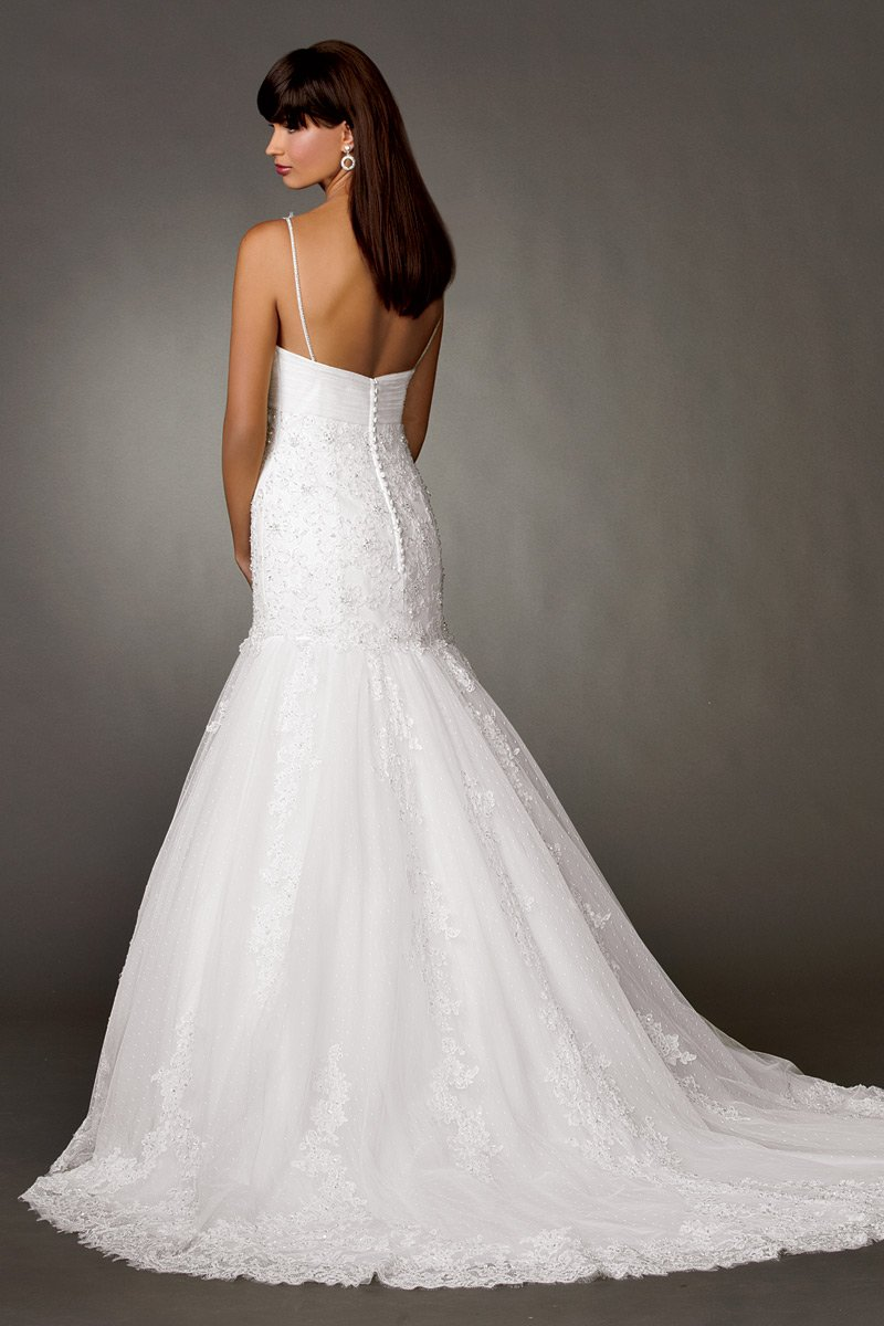 Wedding Dresses, Mermaid Wedding Dresses, Lace Wedding Dresses, Fashion, white, Summer, Vineyard, Garden, Boho Chic, Lace, Beading, V-neck, V-neck Wedding Dresses, Floor, Formal, Country, Sleeveless, Reflections by jordan, Fit-n-Flare, Beaded Wedding Dresses, Boho Chic Wedding Dresses, Formal Wedding Dresses, Summer Wedding Dresses, Floor Wedding Dresses