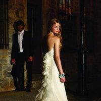 Wedding Dresses, Ruffled Wedding Dresses, Romantic Wedding Dresses, Fashion, ivory, Classic, Mermaid, Romantic, Strapless, Strapless Wedding Dresses, Trumpet, Rivini, Organza, Ruffles, Sleeveless, chapel train, floor length, organza wedding dresses, Classic Wedding Dresses