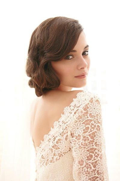 Beauty, Wedding Dresses, Sweetheart Wedding Dresses, Lace Wedding Dresses, Romantic Wedding Dresses, Fashion, Classic, Wedding Hair, Romantic, Lace, Sweetheart, Long sleeves, Sassi holford, Lace overlay, low back, Classic Wedding Dresses, lace sleeves