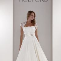 Wedding Dresses, Sweetheart Wedding Dresses, Fashion, Sweetheart, Strapless, Strapless Wedding Dresses, Cap sleeves, Fit and flare, Belt, Embellished, Sassi holford, Full skirt, Ball gown skirt, lace sleeves
