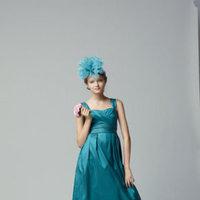 Flower Girl Dresses, Fashion, Seahorse, Taffeta, Sleeveless, floor length, square neck, taffeta wedding dresses