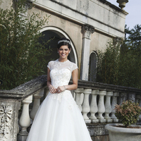 Wedding Dresses, Sweetheart Wedding Dresses, Ball Gown Wedding Dresses, Fashion, Sweetheart, Tulle, Sincerity, Ball gown, illusion neckline, cap sleeve, beaded lace, tulle wedding dresses
