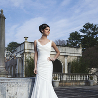 Wedding Dresses, Fashion, Mermaid, Sincerity, ruched bodice, cowl neckline