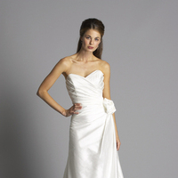 Fashion, white, ivory, Satin, Sweetheart, Classic, Strapless, Floor, A-line, Organza, Ruching, Wedding Dresses, Shantung, siri bridal, Strapless Wedding Dresses, Sweetheart Wedding Dresses, Floor Wedding Dresses, organza wedding dresses, satin wedding dresses, Shantung Wedding Dresses, Classic Wedding Dresses, A-line Wedding Dresses