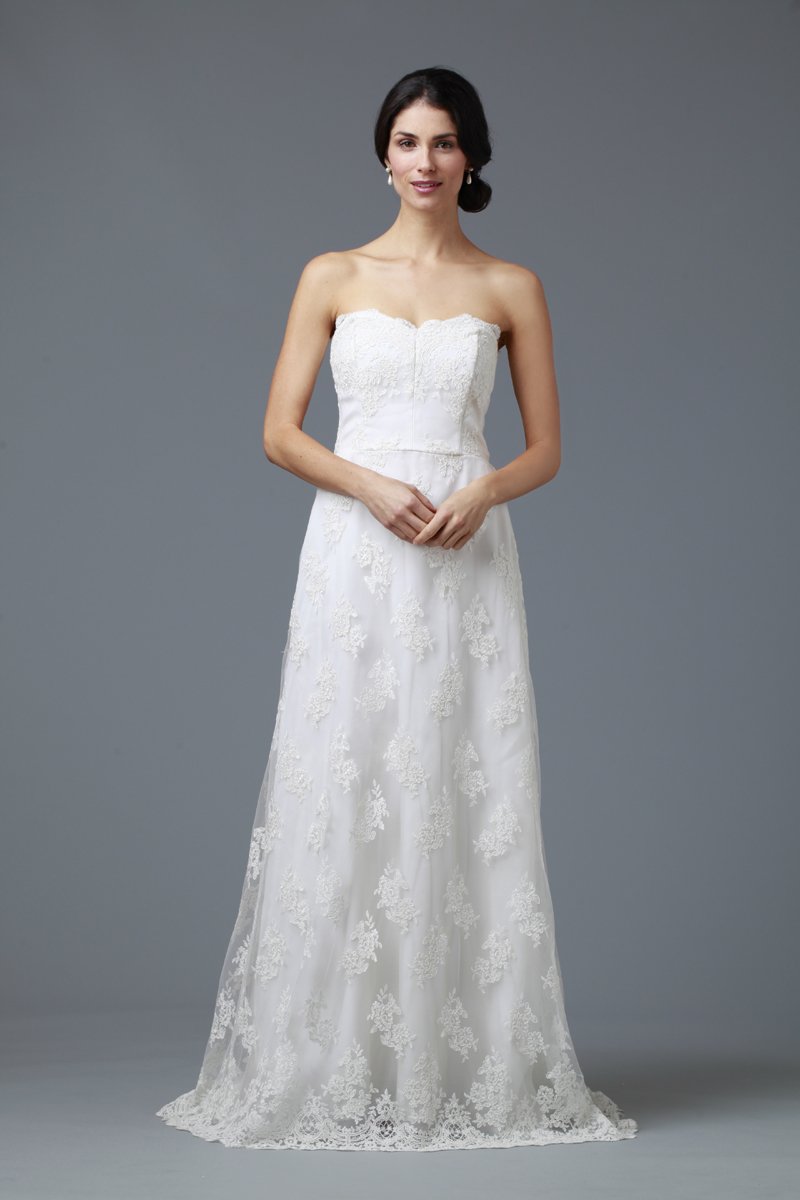 Wedding Dresses, Sweetheart Wedding Dresses, A-line Wedding Dresses, Lace Wedding Dresses, Romantic Wedding Dresses, Fashion, white, ivory, Rustic, Boho Chic, Romantic, Lace, Sweetheart, Strapless, Strapless Wedding Dresses, A-line, Empire, Floor, rustic wedding dresses, Boho Chic Wedding Dresses, siri bridal, Floor Wedding Dresses