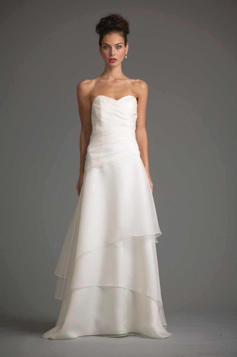 Wedding Dresses, Sweetheart Wedding Dresses, A-line Wedding Dresses, Vintage Wedding Dresses, Beach Wedding Dresses, Fashion, white, ivory, Beach, Vintage, Rustic, Sweetheart, Strapless, Strapless Wedding Dresses, A-line, Floor, Organza, Tiers, Ruching, rustic wedding dresses, organza wedding dresses, siri bridal, Floor Wedding Dresses, Tiered Wedding Dresses