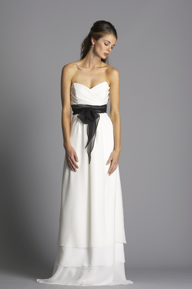 Wedding Dresses, Sweetheart Wedding Dresses, A-line Wedding Dresses, Romantic Wedding Dresses, Fashion, white, ivory, Rustic, Boho Chic, Romantic, Sweetheart, Strapless, Strapless Wedding Dresses, A-line, Sash, Empire, Belt, Floor, Chiffon, Tiers, Ruching, rustic wedding dresses, Boho Chic Wedding Dresses, siri bridal, Chiffon Wedding Dresses, Floor Wedding Dresses, Tiered Wedding Dresses