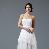 Wedding Dresses, Sweetheart Wedding Dresses, A-line Wedding Dresses, Lace Wedding Dresses, Romantic Wedding Dresses, Fashion, white, ivory, Modern, Romantic, Lace, Sweetheart, Strapless, Strapless Wedding Dresses, A-line, Tulle, Floor, Tiers, Modern Wedding Dresses, tulle wedding dresses, siri bridal, Floor Wedding Dresses, Tiered Wedding Dresses