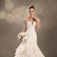Wedding Dresses, Sweetheart Wedding Dresses, Lace Wedding Dresses, Fashion, Bridal, Lace, Sweetheart, Strapless, Strapless Wedding Dresses, Beading, Corset, Sophia Tolli, Beaded Wedding Dresses