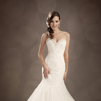 Wedding Dresses, Lace, Sweetheart, Beading, Corset, Crystal, Chapel, Pearl, Sophia Tolli, bridal fashion